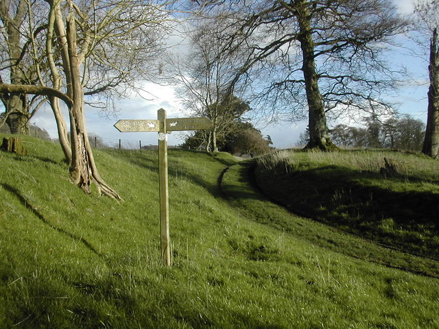 Signpost on the Digby Estate, Minterne Magna