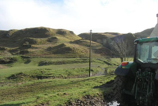 Landscape from Gallanach Farm
