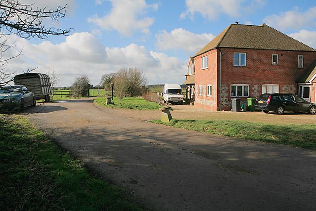 House at Church Lane Farm, Brown Candover