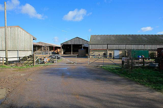 Farm Buildings at Church Lane Farm, Brown Candover