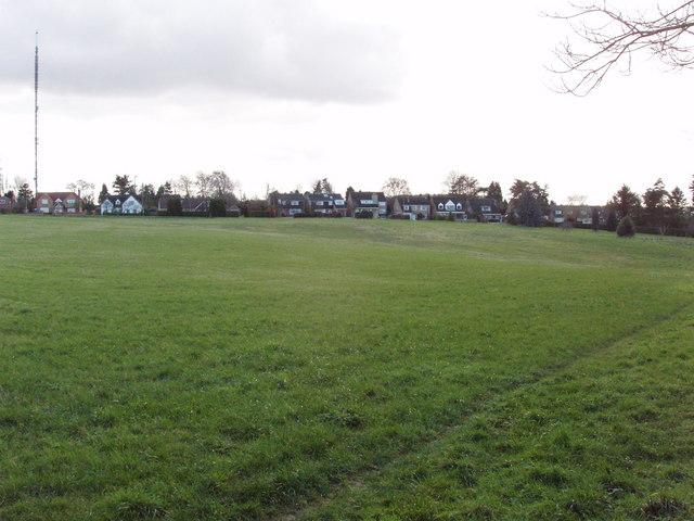 Woodperry Road, Beckley, viewed across field