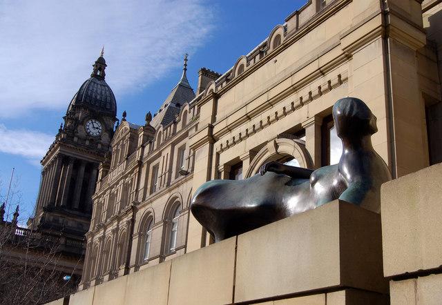 Leeds. Henry Moore town
