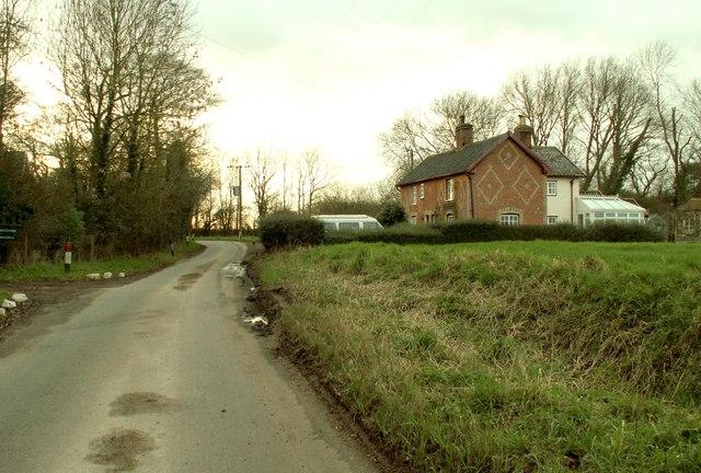 Cottages on Vicarage Road