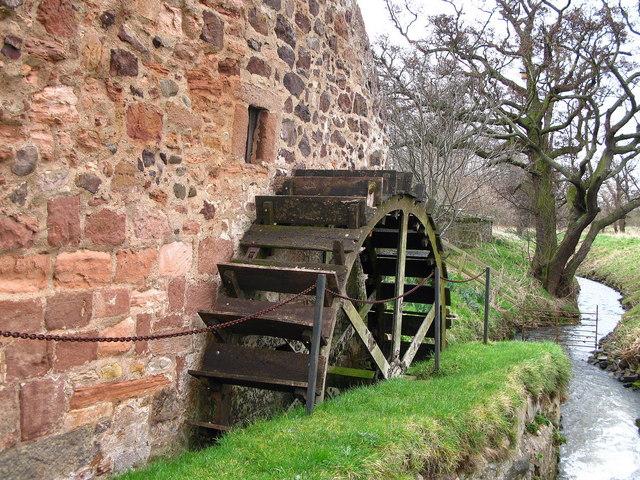 Waterwheel, Preston Mill, East Linton
