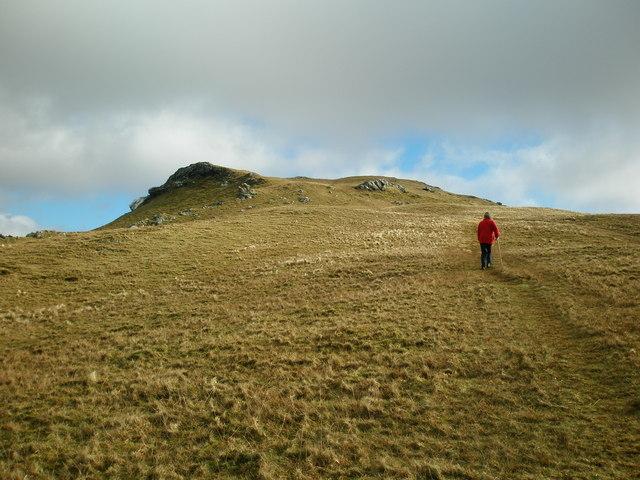 Below Summit of Moelwyn Bach