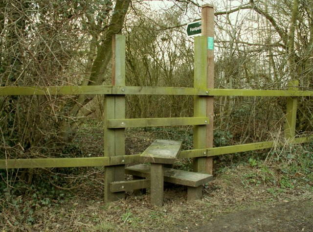 A stile on Southolt Road