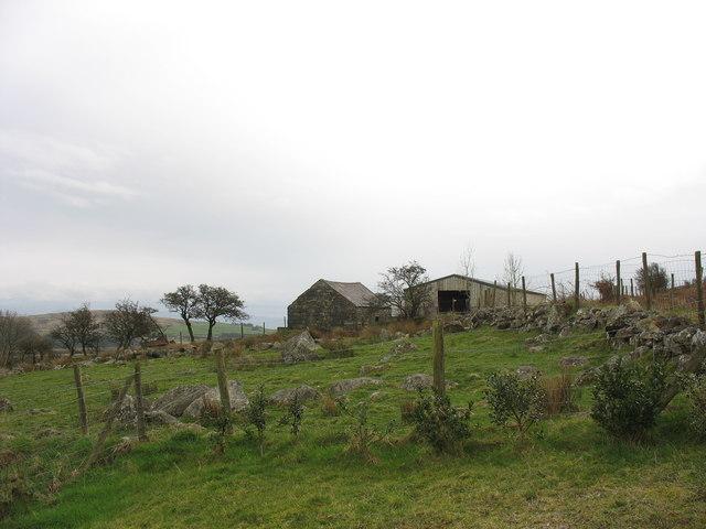 Farm buildings at Hengwm
