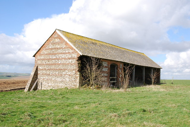 Old Stone Barn on Marleycombe Hill