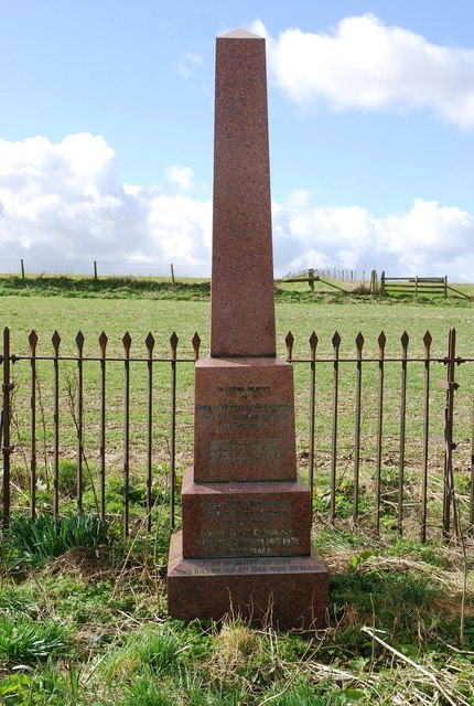 Memorial on Marleycombe Hill