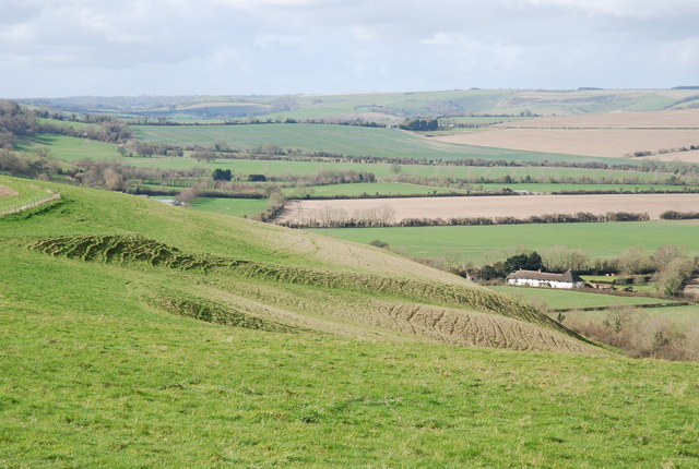 Northern edge of Marleycombe Hill