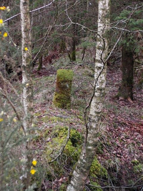 Scots Dyke boundary stone
