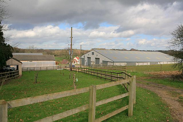 Farm Buildings at Breach Farm