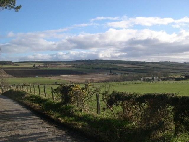 Farmland near Kinbeachie