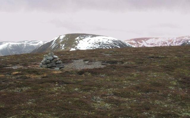 Summit cairn - Boar of Badenoch.