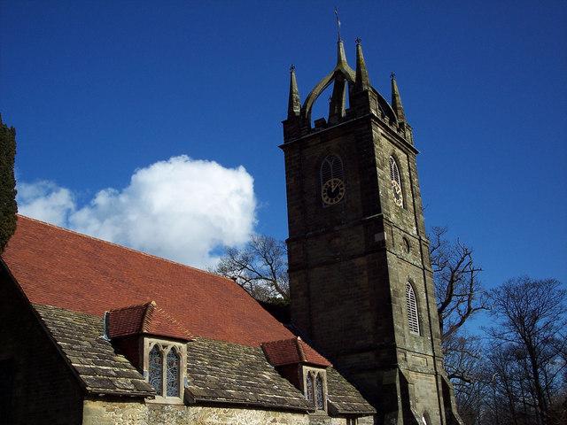 All Hallows Church, Tillington