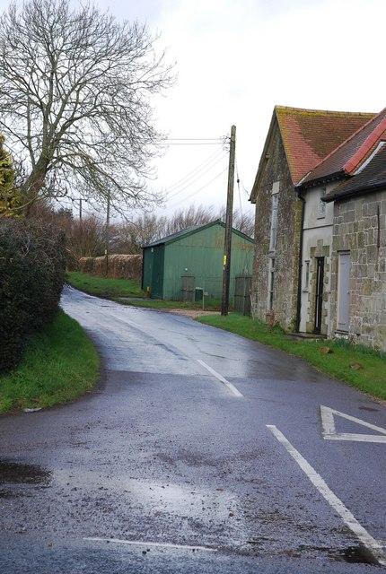 Lane to Swallowcliffe