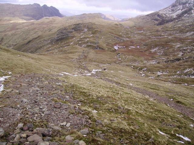 Descending Allen Crags