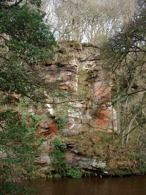 River Ayr gorge near Failford