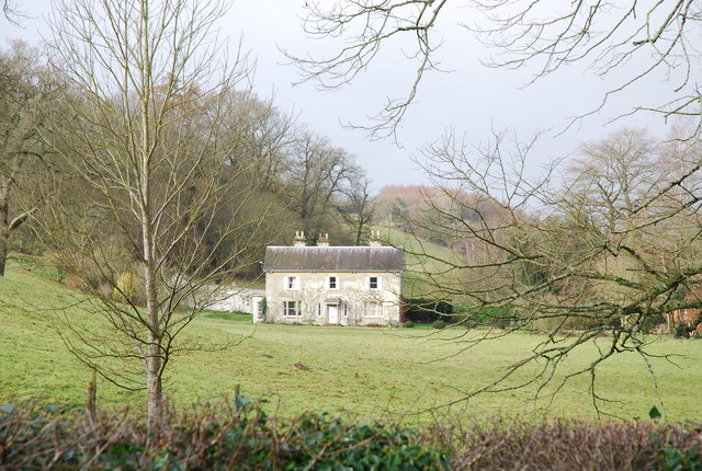 Old stone house in Swallowcliffe