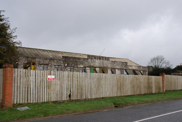 Dilapidated Stainers building