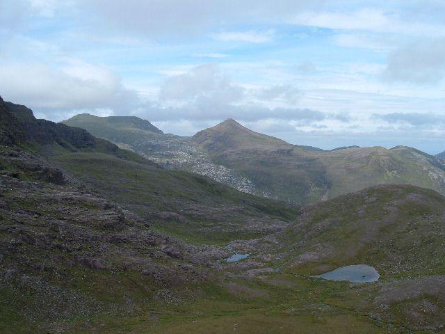 Lochans below Meall Garbh