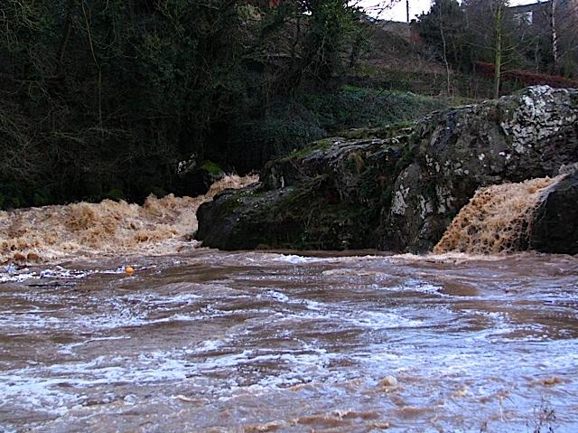Tyne in flood