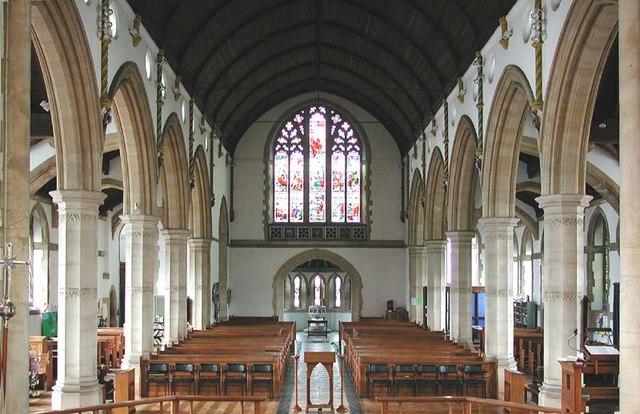 St Peter, Bushey Heath, Herts - West end