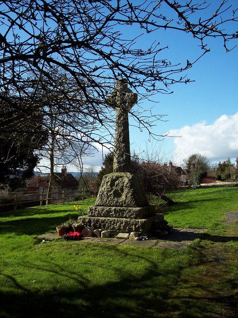 War Memorial, All Hallows Church, Tillington