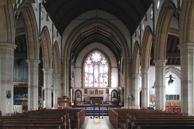 St Peter, Bushey Heath, Herts - East end