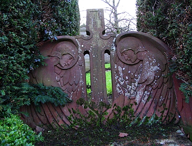 Art Nouveau gravestone