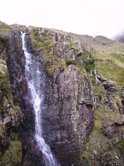 Waterfall feeding Ruddy Gill