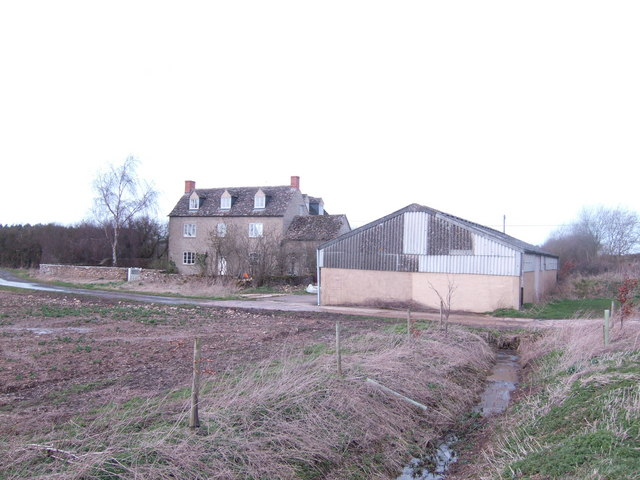Charlham Farm house and barn