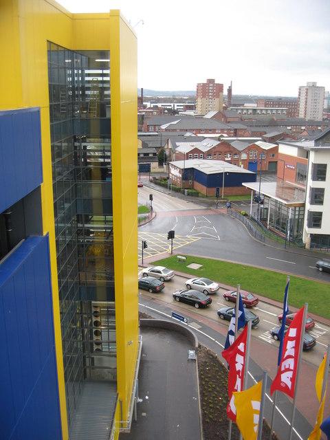 New Ikea Building Ashton
