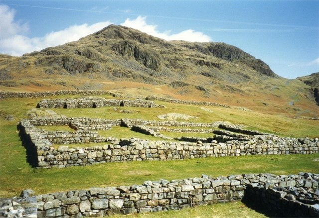 Roman fort at Hardknott