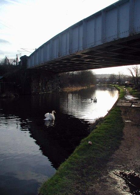Dockfield Road Railway Bridge