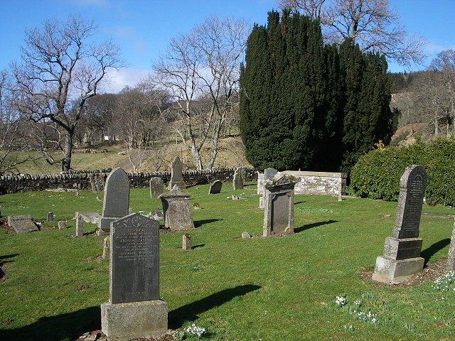 Cemetery in Glen Quaich