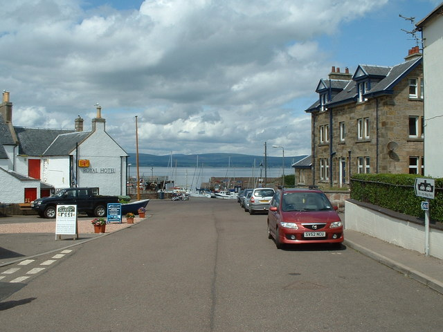 Cromarty town and Harbour