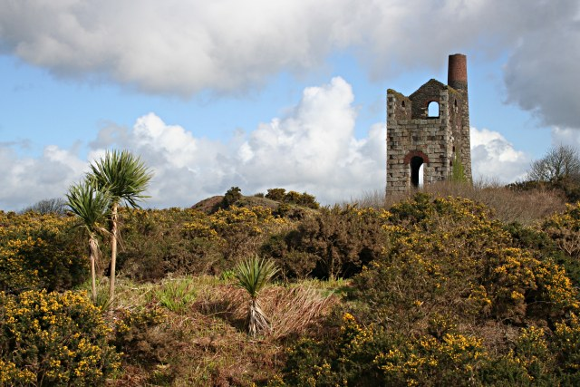 Hinds Shaft Pumping Engine House at Wheal Uny