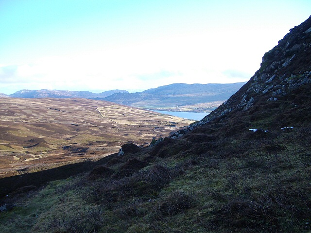Meall Dubh looking into Glen Quaich