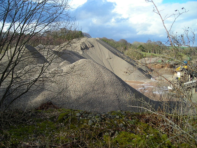 Gravel Quarry Near Locharbriggs