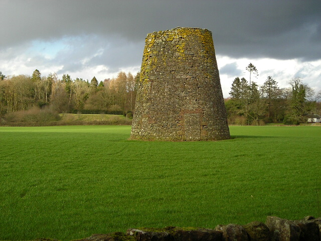 Remains Of Windmill Near Duncow