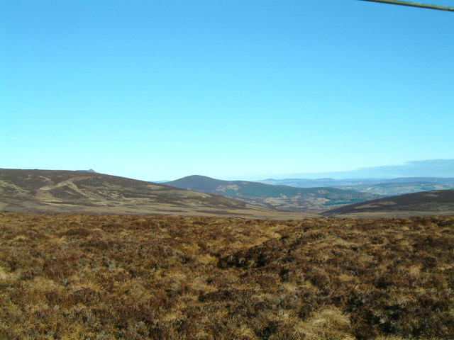View from Cairn o' Mount Track