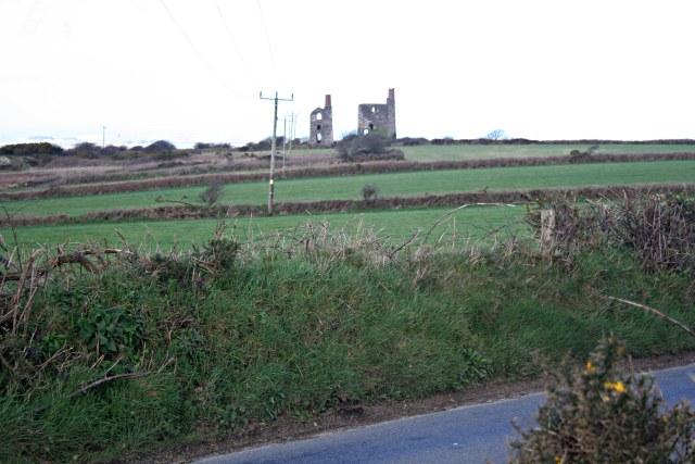 Farmland and Engine Houses