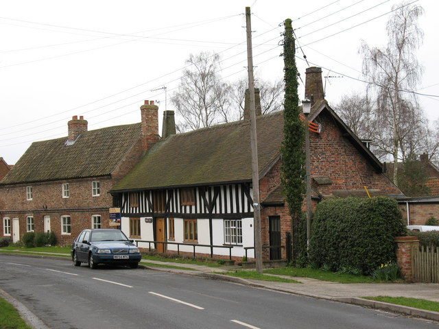 Half timbered house in Wheldrake