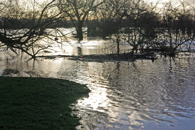 Flooding at Ratcliffe Culey