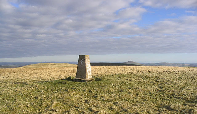 Pike Fell trig point