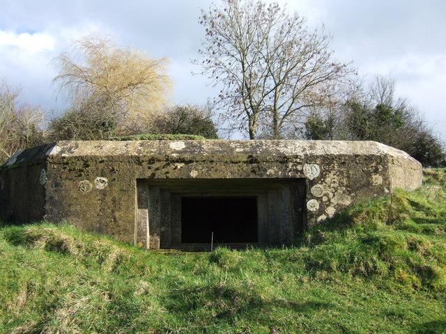 Gun emplacement on Crimson Hill