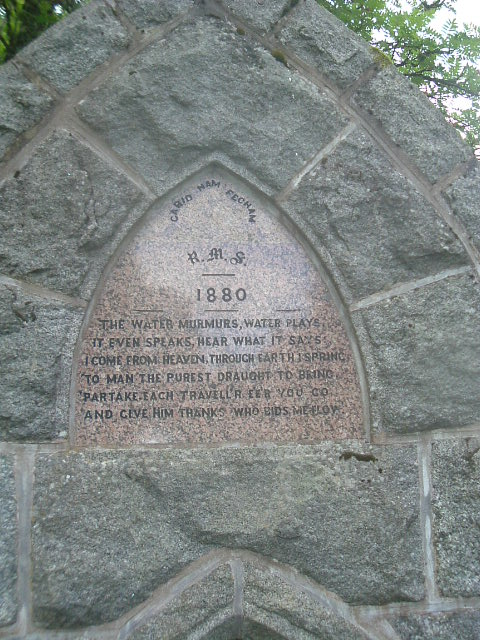 Tom Tough's well