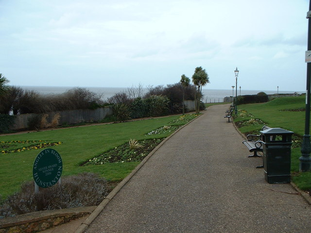 Cliff top gardens, Hunstanton.