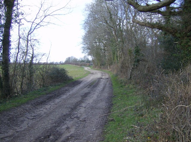 The track to Horsepasture Farm